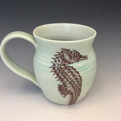 sea horse mug #2