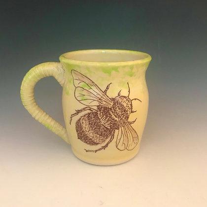 flying bees mug