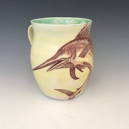 jumping sailfish mug