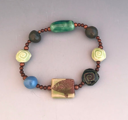 snapper stretch bracelet