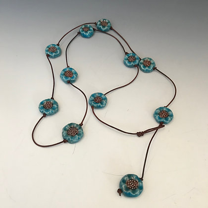 raku strand necklace