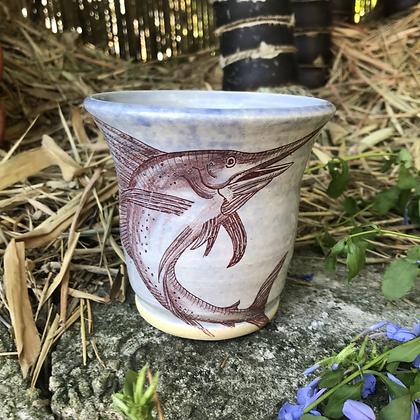 blue sailfish mug