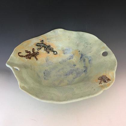 wabi-sabi creature bowl