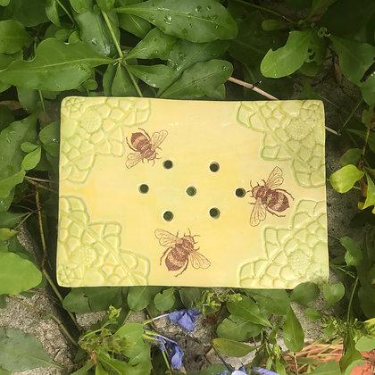 bees soap dish