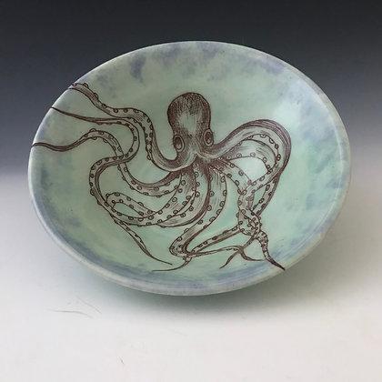 octopus bowl inblues