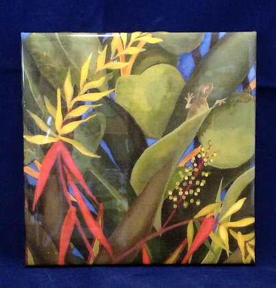 Heliconia tile