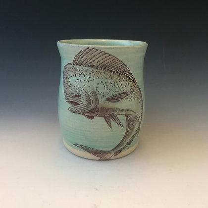 jumping dolphin mug