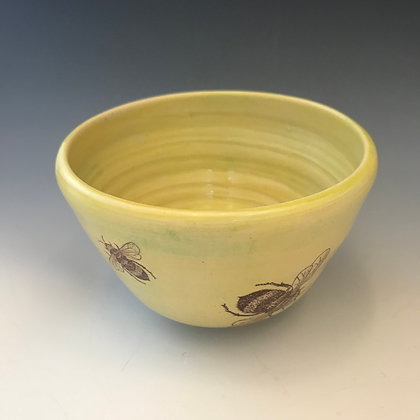 yellow bee bowl