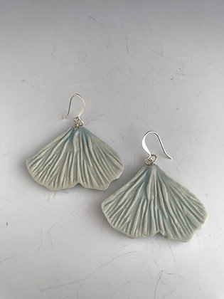 cerulean ginko earrings