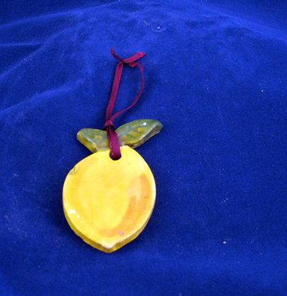 lemon ornament