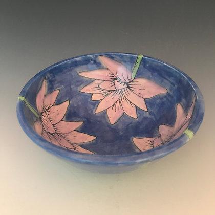 painted lotus bowl