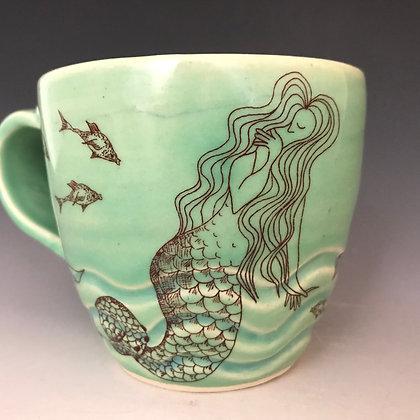 mermaid mug inaqua