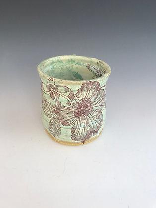mint hibiscus mug #2