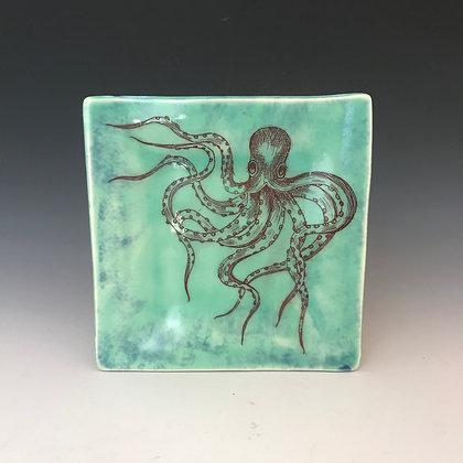 octopus tapa plate