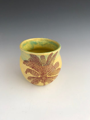 Coconut palm mug