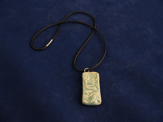 bamboo leaves pendant