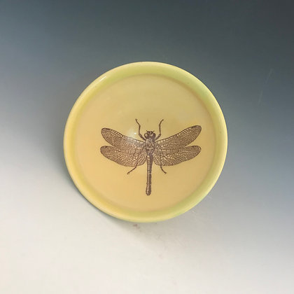 dragonfly bowl inyellow