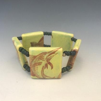 fish double stretch bracelet