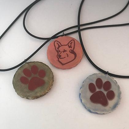 pets & paws necklaces