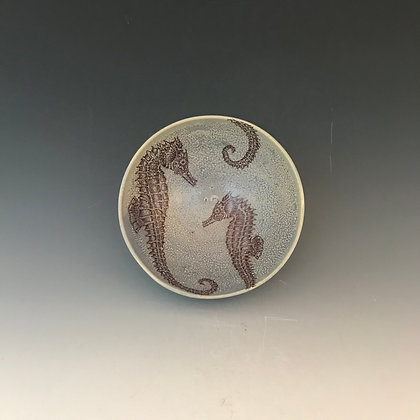 sea horse bowl #1