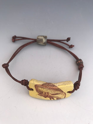 dolphin leather bracelet