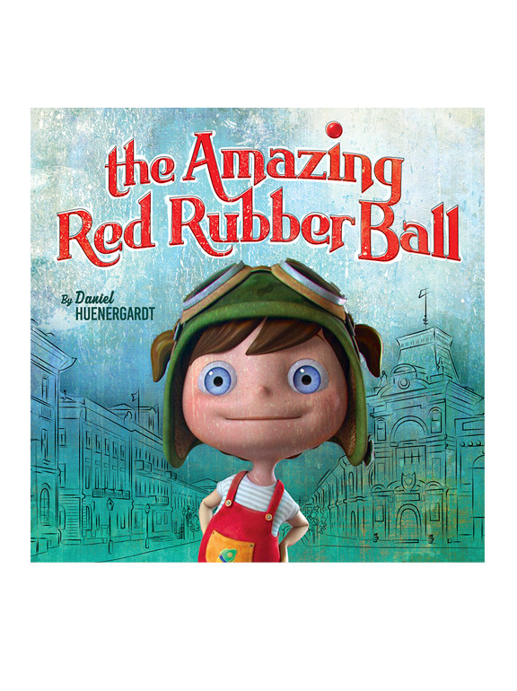 AMAZING RED RUBBER BALL
