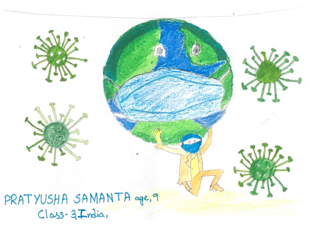Age 9, India