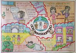 Age 8, India