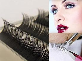 Semi permanent lashes, lash extensions
