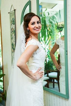 Bride, beauty, makeup, wedding