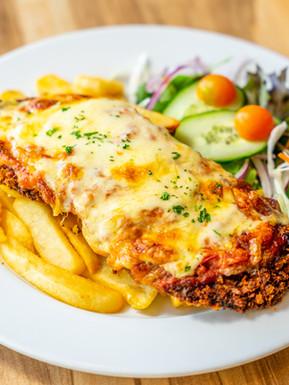 The Pint Club_Beef schnitzel parmigiana.