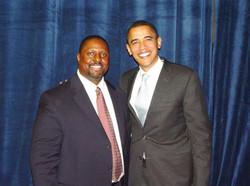 Met President Obama