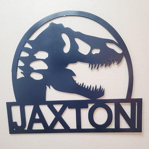 T-Rex Wall Sign