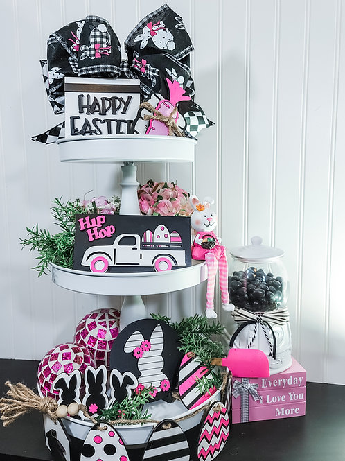 DIY Easter Tiered Tray