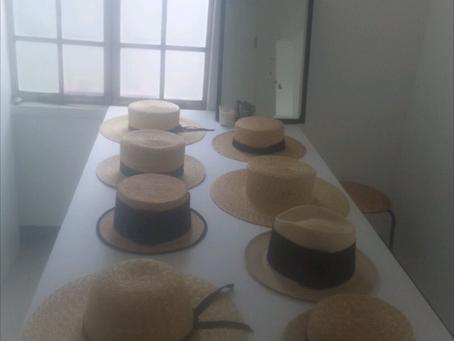 植物と麦わら帽子展 inのひのひ