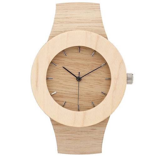 手づくり  木の腕時計