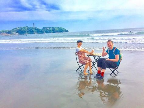 海Cafe @ 江の島海岸