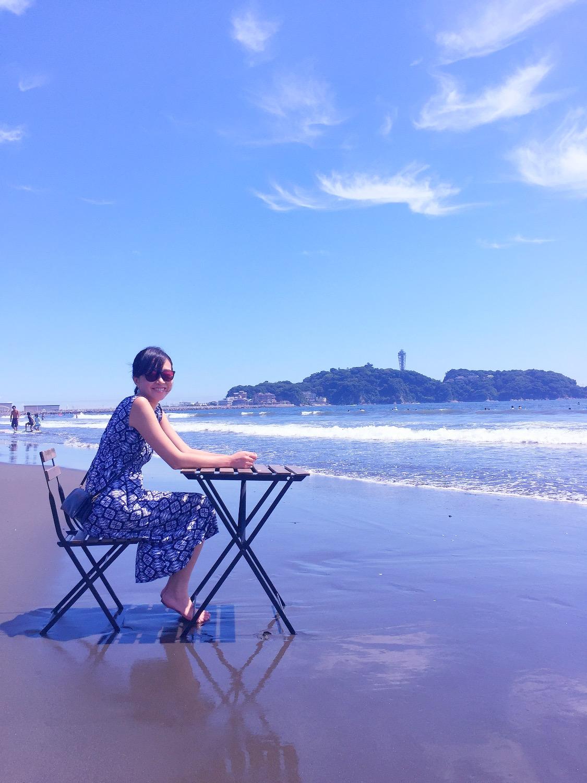 江の島の海Cafeへようこそ!