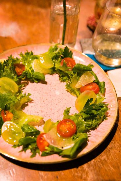 Organic Wreath Salad