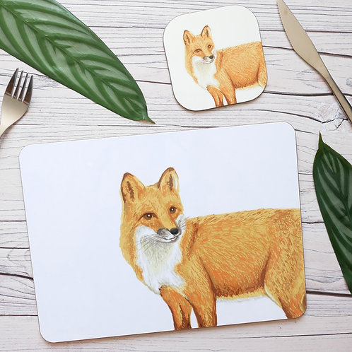 Fox Table Place Mats