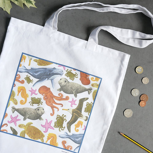 Save-our-Seas Cotton Tote Bag