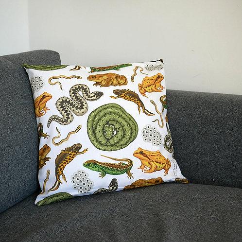 Reptiles & Amphibians Cushion Cover