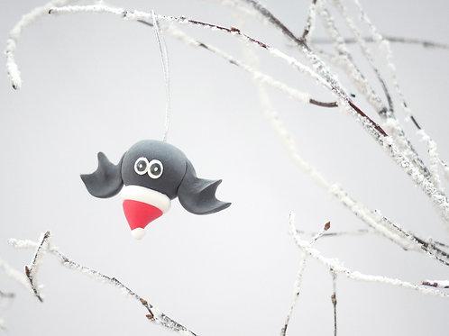 Handmade Bat Christmas Tree Decorations