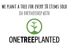 Plant a tree for every 10 items sold