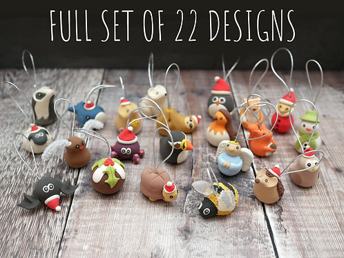 Full Set of Christmas Tree Decorations
