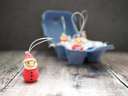 Handmade Santa Christmas Tree Decorations