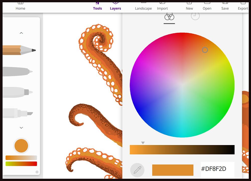ISKN Repaper studio colour choice