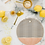 Thumbnail: Watercolor Stripe Blush Cutting Board