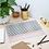 Thumbnail: Minimal Stripe Pink Acrylic Tray