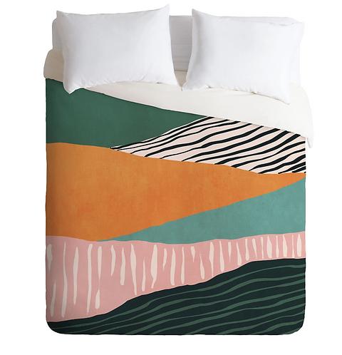 Modern Irregular Stripes 02 Duvet Cover